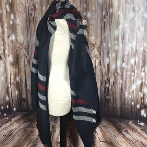 Nwt Rectangle Large Blanket Scarf